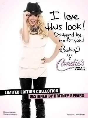 Britney Spears for Candie's