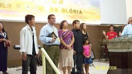 Apostolo Geziel Gomes Filho e Familia