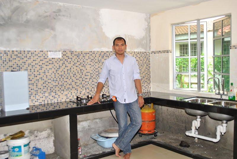 Dekorasi Ruang Dapur Sebelum Selepas