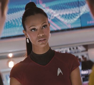 TransGriot: Zoe Saldana's Playing Uhura!