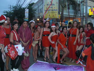 Image result for Trans women at Christmas parade in the Philippines