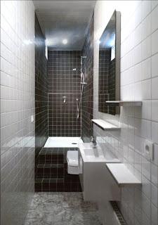 solutionappart transformer une petite salle de bain couloir. Black Bedroom Furniture Sets. Home Design Ideas