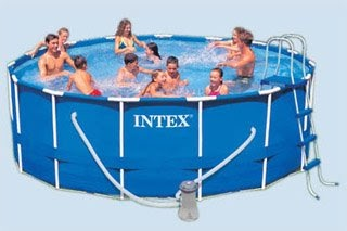 Ocio jard n piscina tubular intex 56945 e oferta en for Carrefour piscinas intex