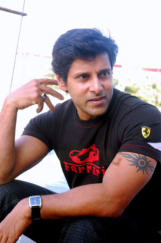 Actor Vikram Six Pack