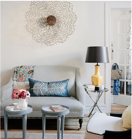 Where the Sidewalk Begins: Pretty Living Room...