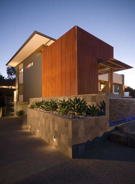 ' All About Modern Ideas ': Modern House Design Built Of Eco-Friendly Radial Timber