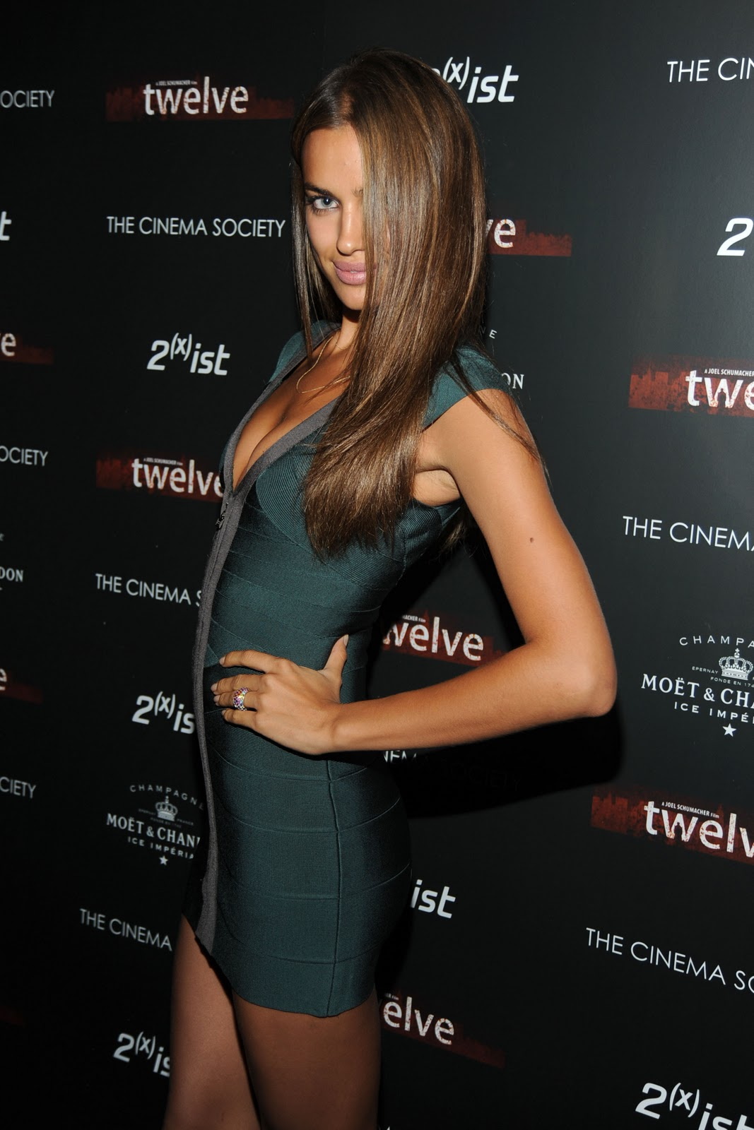 Irina Shayk Screening Of Twelve In New York 2010