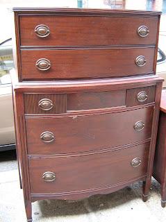 5 Piece Duncan Phyfe Bedroom Set   SOLD