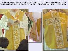 Ornamento propiedad del Oratorio Sta. Teresita