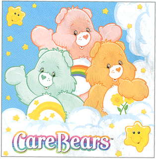 Care Bear Cartoon Family