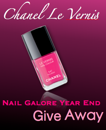 Nail Galore Chanel Pulsion Giveaway!!