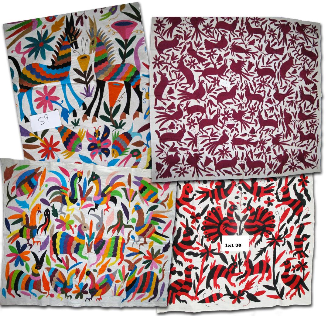 Fashion Impact Otomi Textile Mural