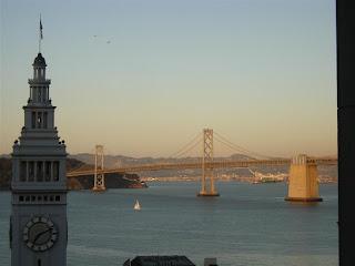 Hyatt Regency San Francisco room view of Bay Bridge