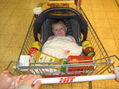 Baby sale in aisle twelve!