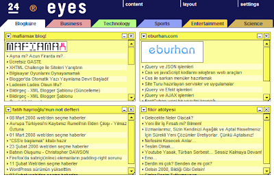 24eyes.com'da Blogküre