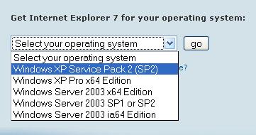 Internet Explorer 7 Yükleme Ekranı