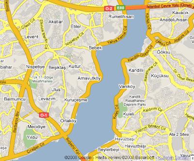 Gezi Haritası