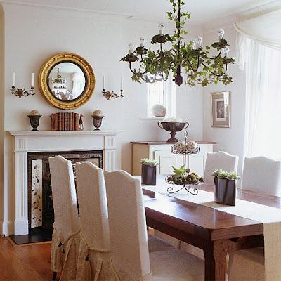 decoração-sala-de-jantar-branca