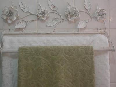 porta toalhas provençal