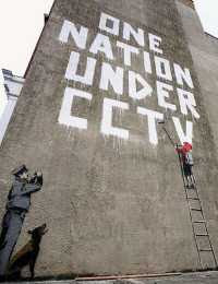 Banksy - One Nation Under CCTV (2008)