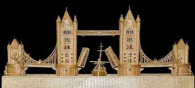 Michael Williams - Matchstick Model of Tower Bridge (2008)