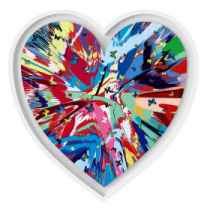 Damien Hirst - Er...Heart-shaped...er...Whatsit