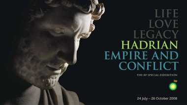 Hadrian: Empire and Conflict Exhibition Graphic (2008)