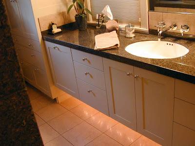 Hardwood Design Elevated Bath Vanity Cabinet