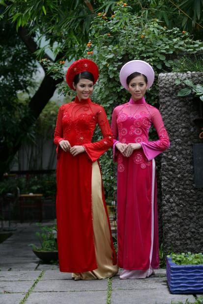 Pakaian Tradisional Vietnam : pakaian, tradisional, vietnam, RESAM, MEWARNAI, BANGSA:, Vietnam