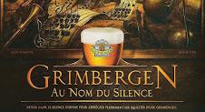 ... depuis 1128, le silence s'impose pour apprécier les qualités d'une Grimbergen.