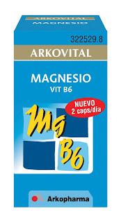 """TE SIENTES """"DOWN""""… Arkovital Magnesio Vitamina B6. Ideal contra  la sensación de  cansancio y la fatiga por estrés."""