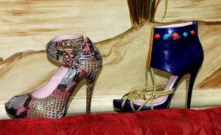 Con Patricia Rosales y sus fantasticos Zapatos Joya. El nuevo hit de la moda internacional.