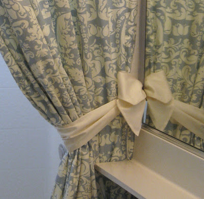 Shower Curtains With Tie Backs Room Ornament