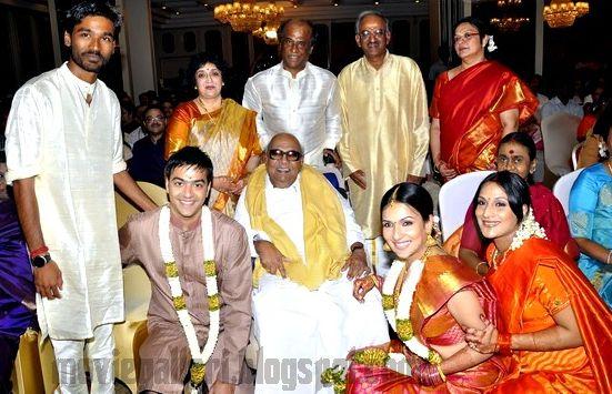 Soundarya Rajinikanth engagement Dhanush and Aishwrya