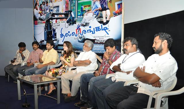 Thillalangadi Movie Pressmeet