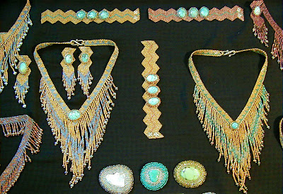 Display of jewelry from 1998