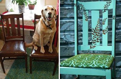 Coppia sedie decorate dipinte a mano for Sedie decorate a mano