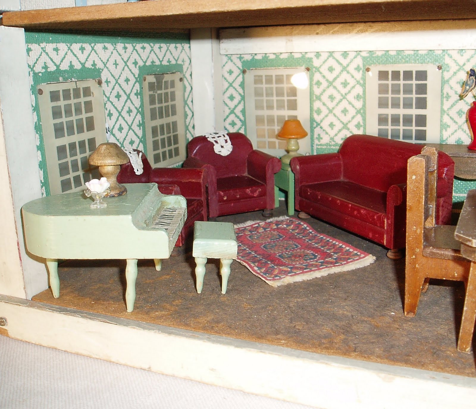 my vintage dollhouses schoenhut versus converse realy truly