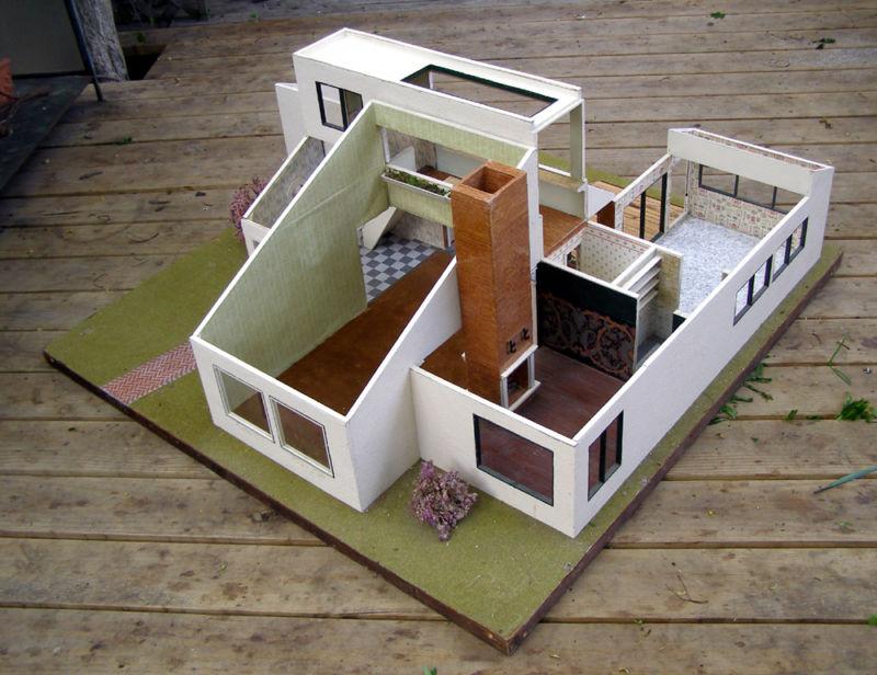 My Vintage Dollhouses A Modern Dollhouse Now On Ebay