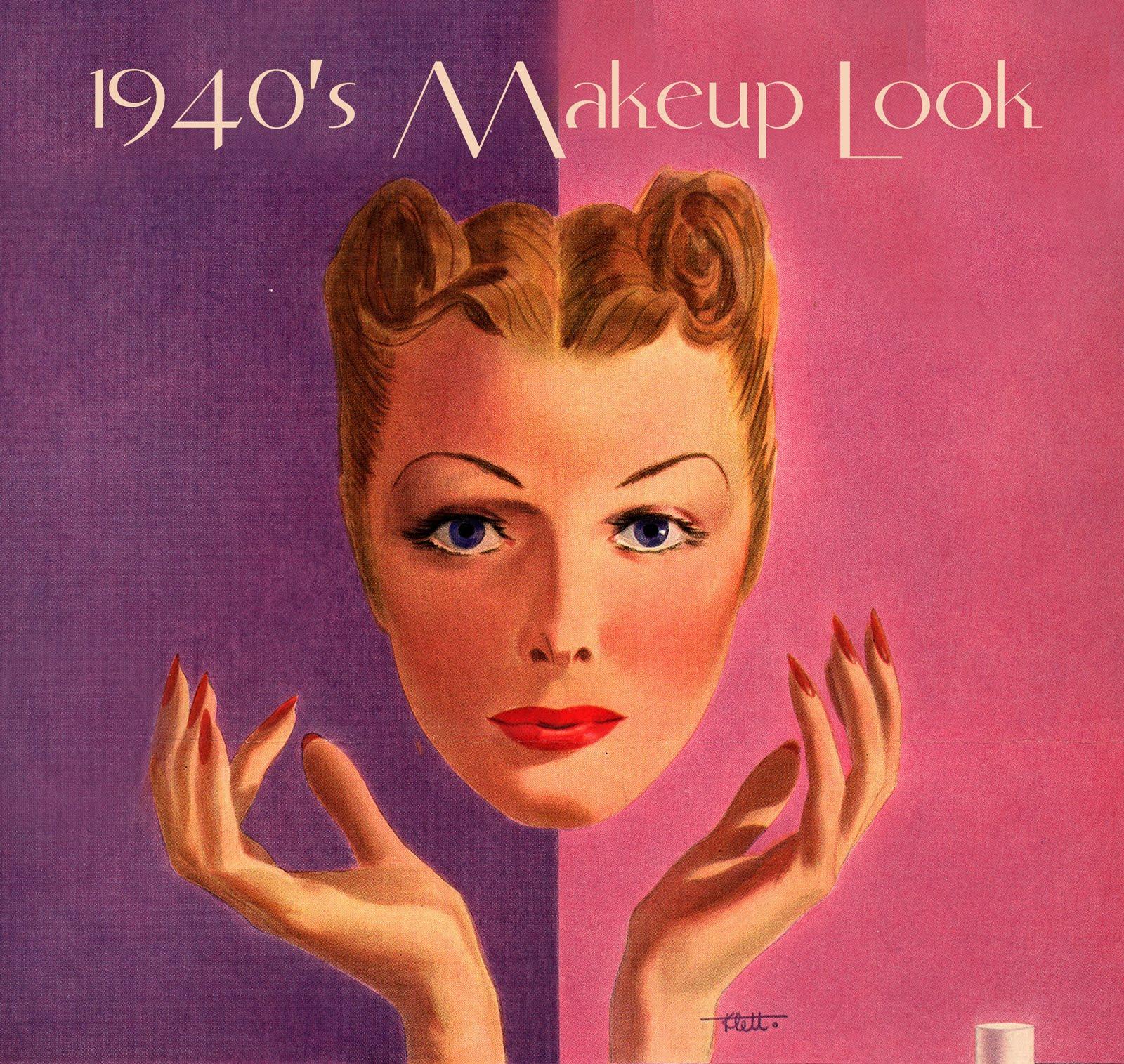 1940s makeup