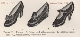 ca698415ae9 Brown and white low heeled pumps. Brown ladies galoshes.   Glamourdaze note  - these were designed to fit over your high heeled shoes