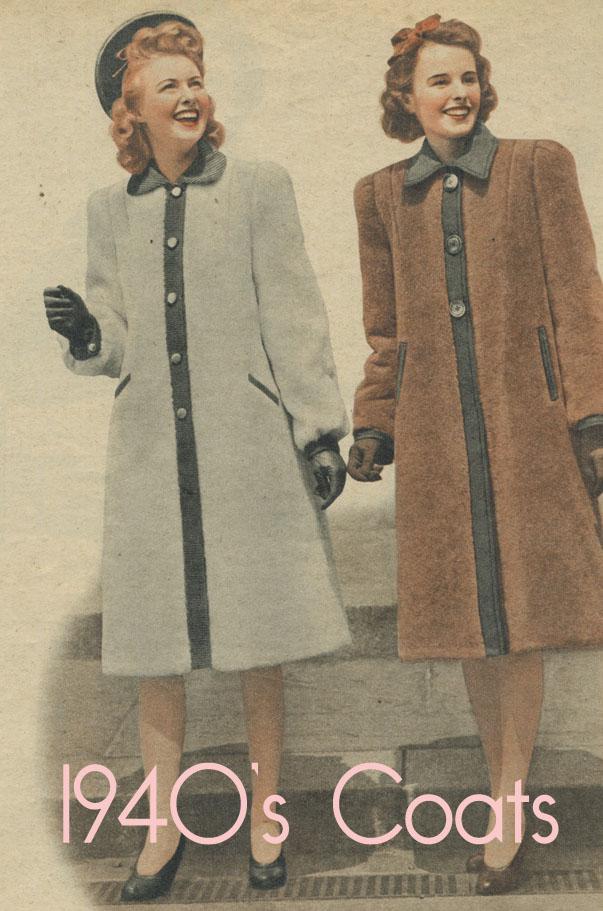 fashion styles women  1940 s Fashion - Betty s Winter Wardrobe Plan 1948 7887951d9