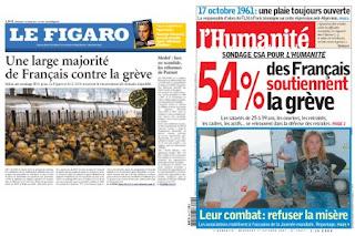 Le Figaro - L'Huma (17.10.2007)