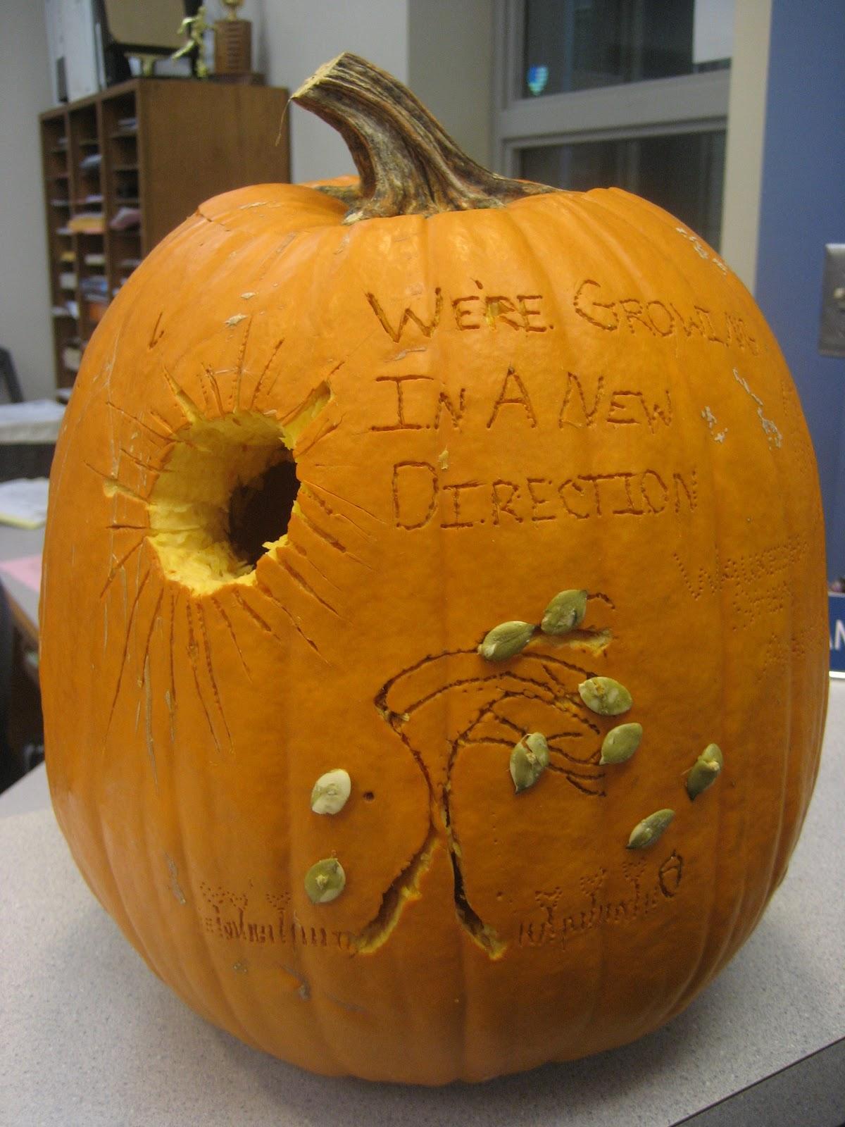 Randall Stem Online Art Room Pumpkin Carving Contest Winners