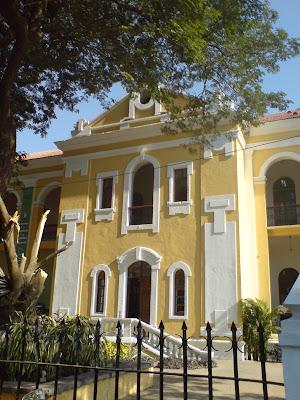 Goan Architecture The Maquinez Palace