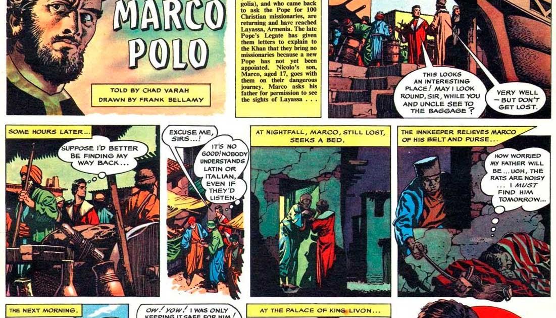 Italian Boy Name: British Comic Art: Marco Polo