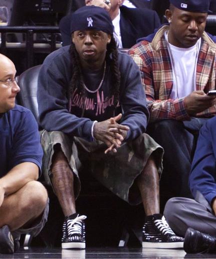 la meilleure attitude 3988d 9af53 KICK GAME : Spotted:Lil' Wayne in BBC Cap, Marc by Marc ...