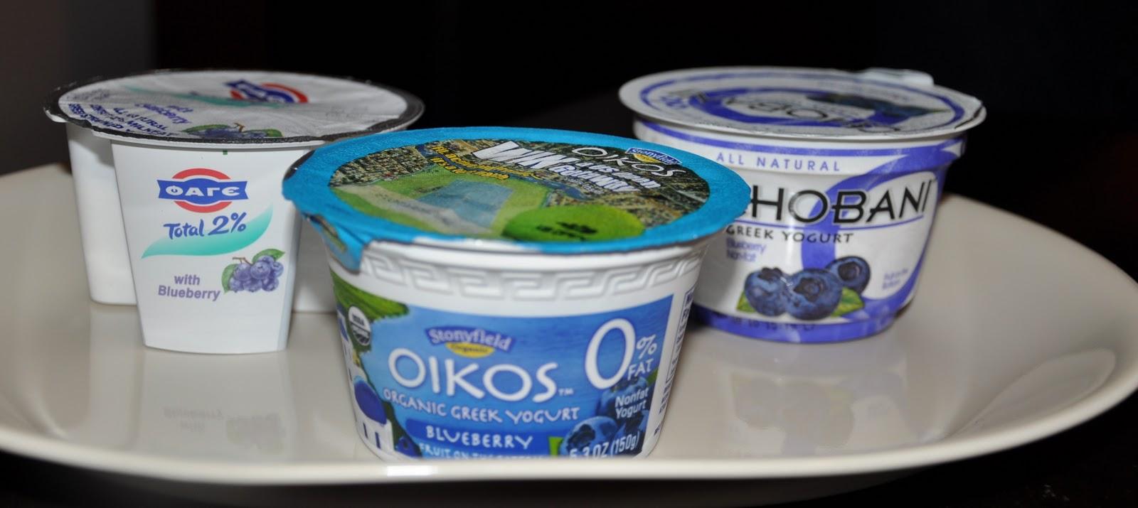 Taste Test: Best Greek Yogurt - Chobani vs  Fage vs  Oikos