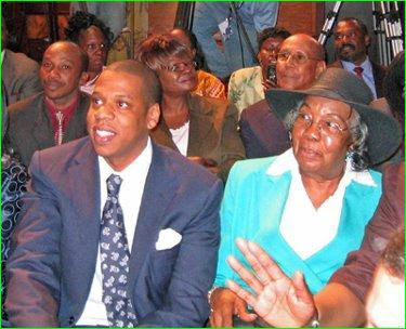 The Answer 24/7: JAY-Z'S MOTHER HONORED