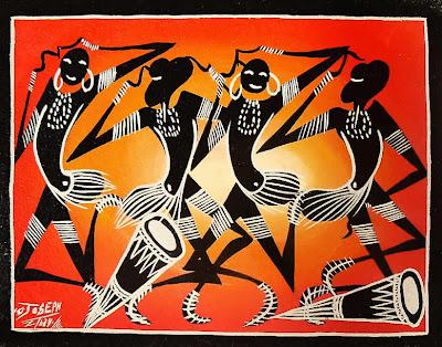 African  on African Art In Zanzibar